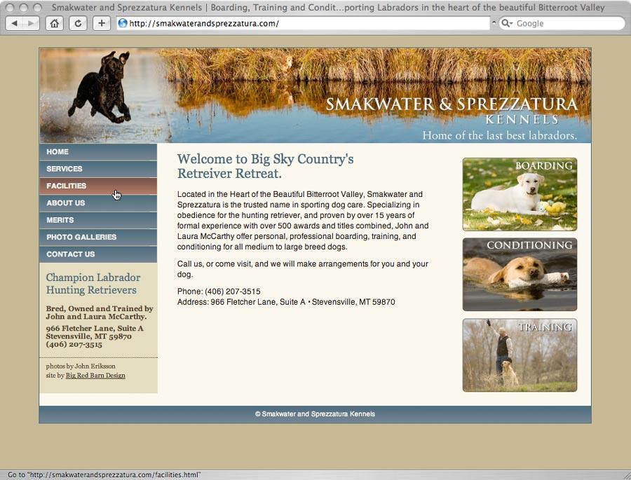 smakwater and sprezzatura labradors website
