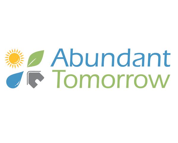 logo design for Abundant Tomorrow