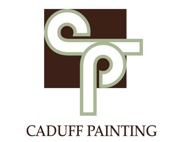 logo design for caduff painting
