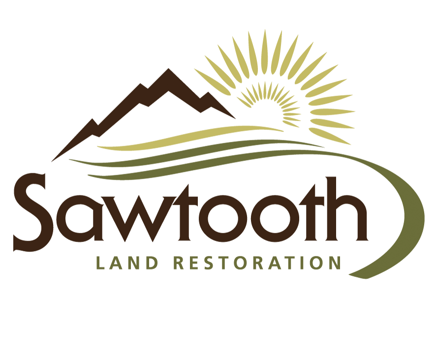 logo design for sawtooth land restoration