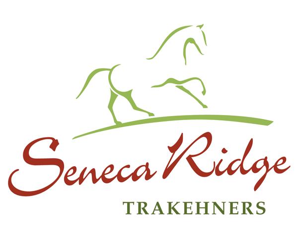 logo design for Seneca Ridge Trakehners