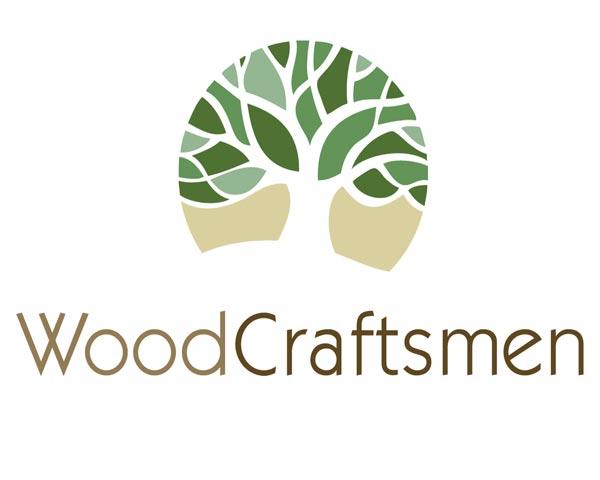 logo design for woodcraftsmen