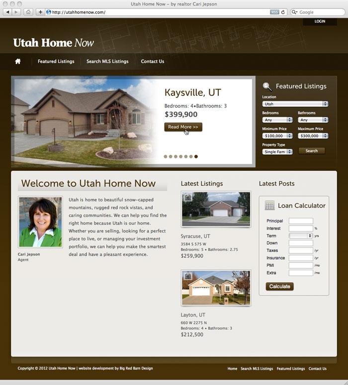 website screenshot for utahhomenow.com