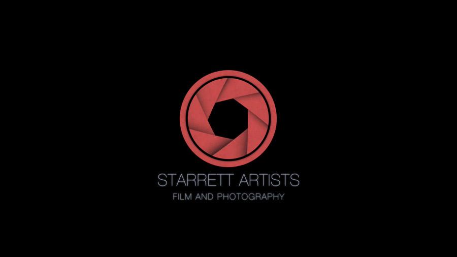 image of production logo design for starrett artists of stevensville, montana